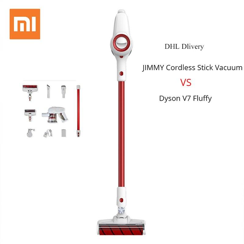 [free duty]Xiaomi Jimmy JV51 Vacuum Cleaner Cordless Stick Vacuum Handheld Vacuum Car Vacuum Removable Battery 400W vacuum cleaner for sofa