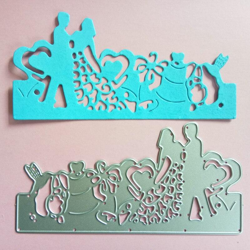 Creative Frame Metal Cutting Dies Stencils DIY Scrapbooking Card Die Cuts Craft