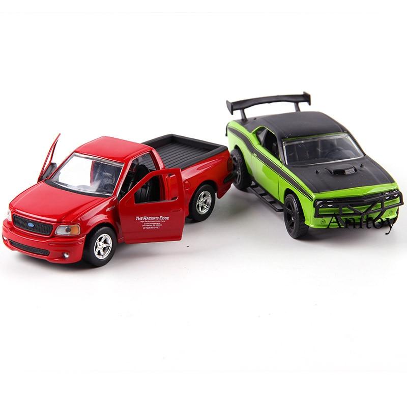 Metal Die Cast JDM Tuners JADA Fast And Furious Subaru WRX STI F-150 SVT GT-R R35 Charger RT Diecast Metal Model Car Toy