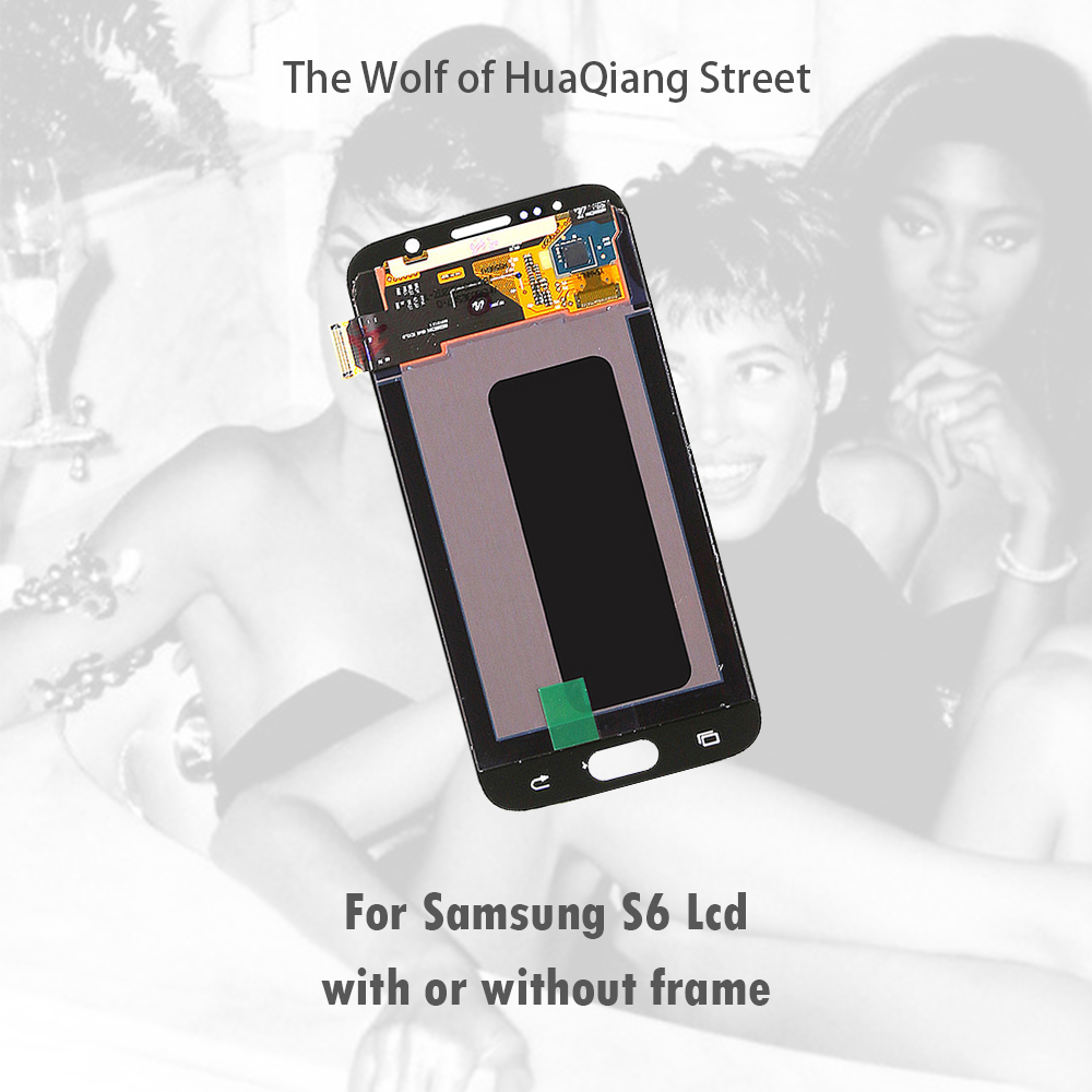 AAA Original Best Lcd Touch Screen for Samsung Galaxy S6 G920 f i a k Display Replacement with or without frame free giftAAA Original Best Lcd Touch Screen for Samsung Galaxy S6 G920 f i a k Display Replacement with or without frame free gift