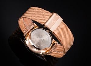 Image 4 - CURREN nowa moda prosty styl biznes mężczyźni zegarki Ultra cienkie męskie zegarki na rękę kwarcowy wodoodporny zegar Relogio Masculino