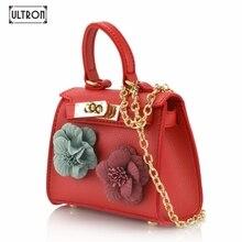 [ULTRON] luxury totes Women Chain Small Bags Mini Lady Fashion  Shoulder Bag Handbag PU Leather Sling Crossbody Bag female