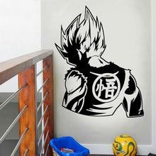 Dragon Ball Z (DBZ) - Goku Super Saiyan Anime Decal Sticker for Car Truck Window Manga home Decoration Childrens Room LZ23