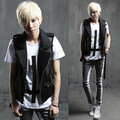 2017 spring and summer Metrosexual mens vest Korean style cultivating cloth costume night leisure vest