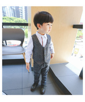 Spring Boys Handsome Gentleman Suits Kids Clothes 2018 New Baby Boy Clothes Set 3 8 Years Children Clothing
