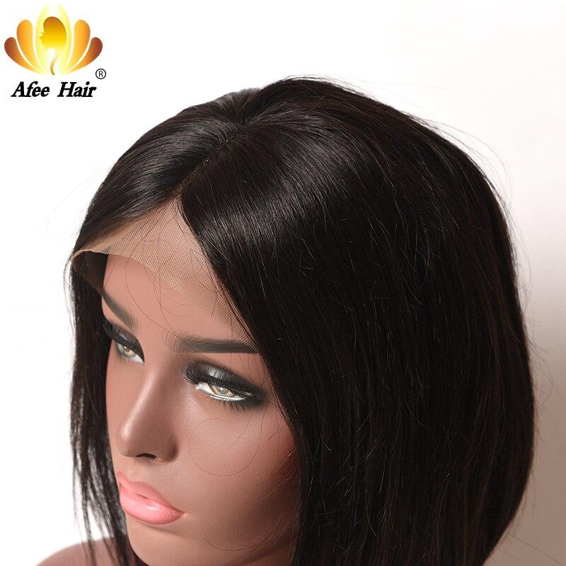 AliAfee Hair 150% Περούκα Πυκνότητας - Ανθρώπινα μαλλιά (για μαύρο) - Φωτογραφία 3