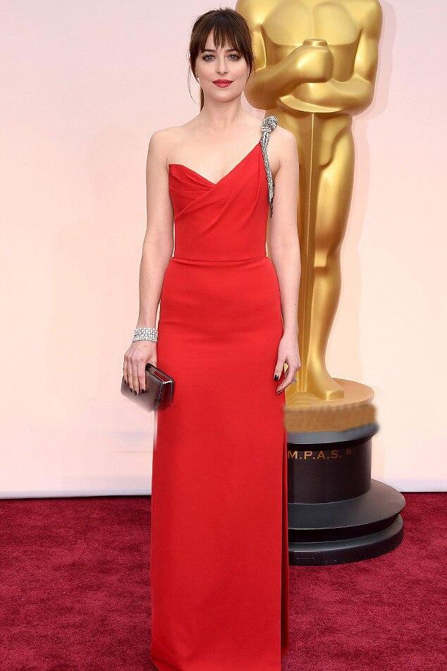 Красное вечернее платье с одним плечом, бисероплетение, безрукавный с Боковым Разрезом, прямое длинное выпускное платье для свадебной вечеринки на заказ