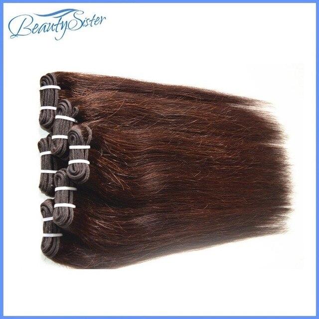 Дешево бразильские волосы 8 пучки 400 г лот 5а brazillian прямые волосы бразильский humain наращивание волос натуральный цвет волос коричневый