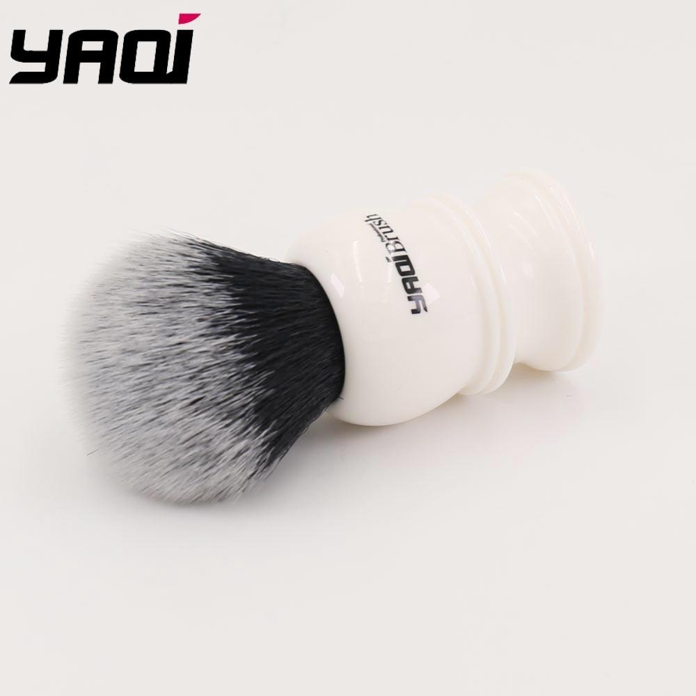 Resin Handle Synthetic Hair Men Shaving - Barbering og hårfjerning - Foto 5