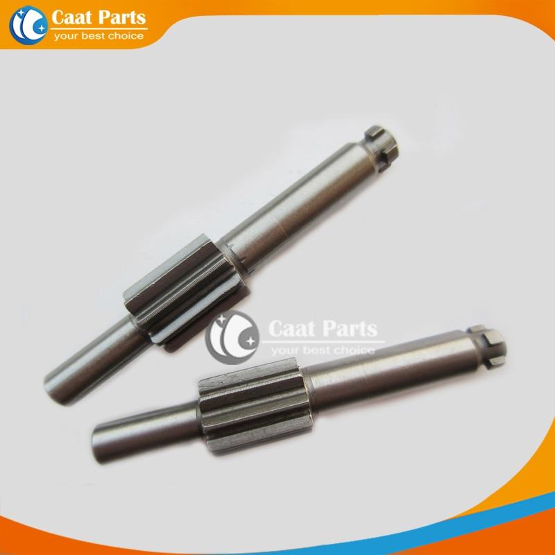 Geen verzendkosten! 2 STKS / PARTIJ Vervanging 9-Tanden Elektrisch Gereedschap Metalen Tandwiel Spline-as voor Bosch GBH2-26RE GBH2-26DRE