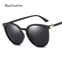 Badtemper Brand Unisex Retro Aluminum+TR90 Sunglasses Polarized Lens Vintage Eyewear Accessories Sun Glasses For Men/Women