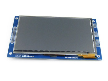 """7"""" Touch LCD 800x480 TFT I2C Capacitive Screen 8080 Series Interface With RA8875 Controller"""