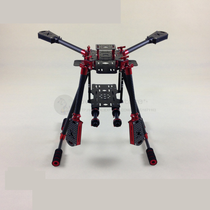 2015 the new DIY FPV Aerial drones Aluminum Alloy folding umbrella quadcopter pure carbon fiber frame Wheelbase 450-550-650mm diy fpv aerial quadcopter drone alien fq700 umbrella folding frame 25mm ultra thick aluminum arm support x8 mode