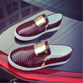 Женщины повседневная обувь 2017 весна высокое качество PU удобные мокасины обувь женская почтовый мелкой повседневная обувь chaussure femme