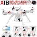 Bayangtoys X16 RC Drone GPS Quadcopter Bayang Игрушки Безщеточный Держатель Gopro вертолеты Могут Добавить WIFI FPV Или HD 8MP Камера VS H109S