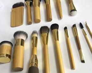 15pcs Beginner makeup brushes brand cosmetics blending blush powder foundation contour eyebrow eyeliner kabuki high quality