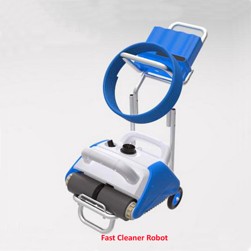 Pool Cleaner Robot Automatic Swimming Pool Cleaner With Floating Recharged battery,Remote Control,Wall Cleaning Function free shipping swimming pool cleaning equipment swimming pool automatic cleaner wall climbing function ce rohs
