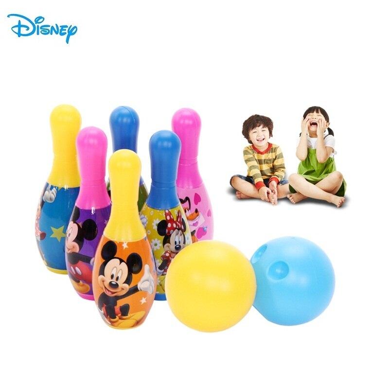 Disney 6Pcs Children Bowling Sets Outdoor Family G...
