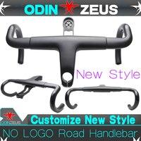 OdinZeus 2019 Стиль Aero Интегрированный Дорожный велосипед руль T800 UD углерода руль для велосипеда, изогнутый 380/400/420/440 мм * 80/90/100/110/120 мм