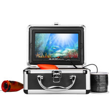 HD 1000TVL Professional Underwater Fishing Camera Fish Finder  7″ Video Camera Monitor AntiSunshine Infrared IR LED lights