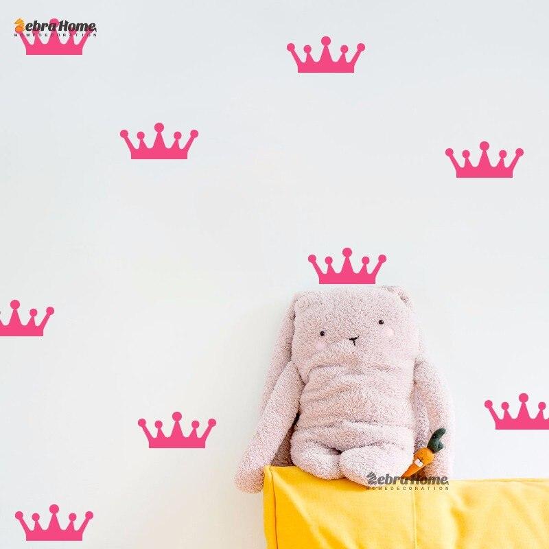 Schöne Crown Muster Wandaufkleber Für Kinderzimmer Wand Verzieren ...