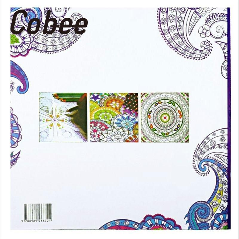 cobee 24pages english kids adult anti stress coloring book fantasy painting books graffiti art therapy drawing gifts - Color Therapy Book