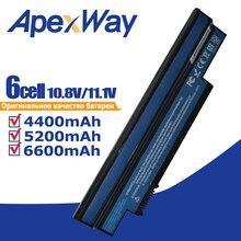 סוללה למחשב נייד עבור Acer Aspire one 253H 532h 532G AO532h עבור eMachines 350 UM09H31 UM09H41 UM09G31 UM09H75 eM350 NAV51 NAV50