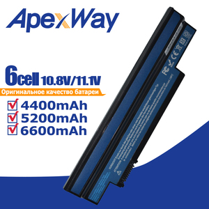 Image 1 - Laptop Battery for Acer Aspire one 253H 532h 532G AO532h for eMachines 350 UM09H31 UM09H41 UM09G31 UM09H75 eM350 NAV51 NAV50