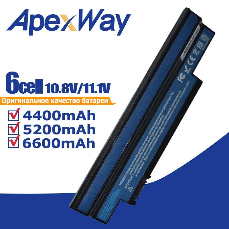 Laptop Battery for Acer Aspire one 253H 532h 532G AO532h for eMachines 350 UM09H31 UM09H41 UM09G31 UM09H75 eM350 NAV51 NAV50