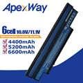 Laptop bateria do acer aspire one 253H 532h 532G AO532h dla obsługi eMachines 350 UM09H31 UM09H41 UM09G31 UM09H75 eM350 NAV51 NAV50