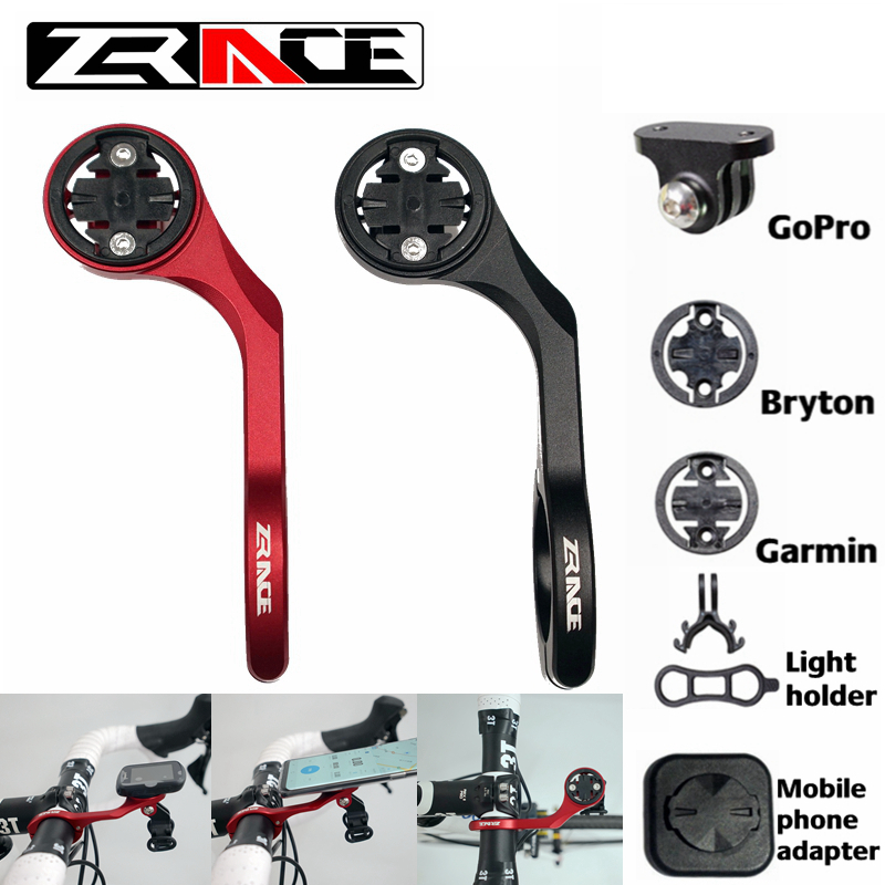 ZRACE Bicycle Computer Camera Mount Holder Out front bike Mount from bike mount accessories for iGPSPORT Garmin Bryton GoPro image