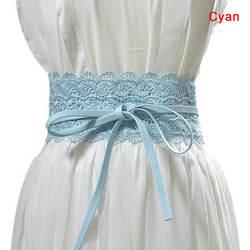 1 шт. для женщин женская обувь ремень кружево широкий пояс PU украшения модный поясной ремень новый