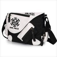 WILD HERO Anime One Piece Luffy Cosplay Shoulder Bag Messenger Bag Teenagers Men Women S Student