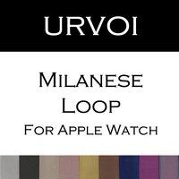 LEONIDAS Milanese Boucle Lien Bracelet En Acier Inoxydable bande Pour Apple Montre 42mm 38mm Bracelet bracelet pour iwatch 1 2 3
