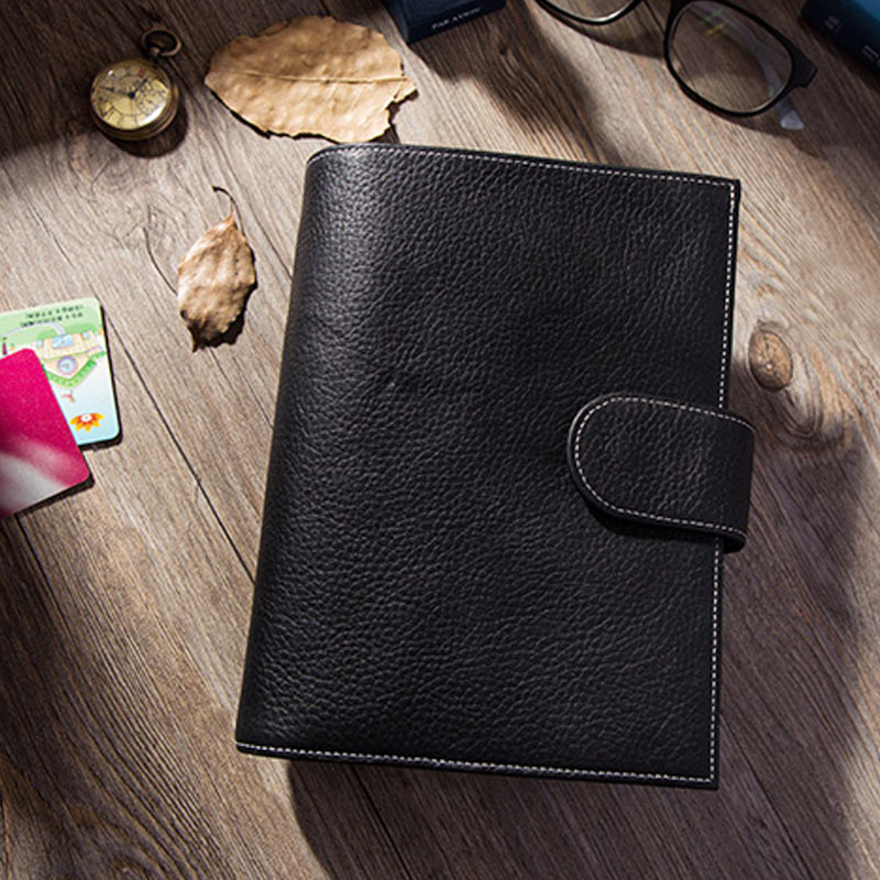 Presale Yiwi Notebook Business Genuine Leather Personal Day Planner Diary Weekly Agenda Organizer Gifts Stationery A6