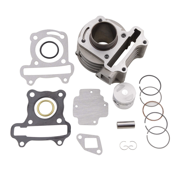 GOOFIT 39mm Bore Cylinder Rebult Kit  for GY6 50cc Moped Scooters Motorcycle cylinder K074-061