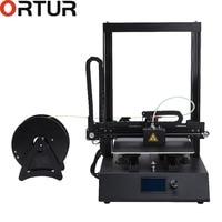 Ortur 3d Printer China Dropshipping 3D Metal Printer High Precision Imprimante Stampante China Industrial Desktop 3d Printer Kit