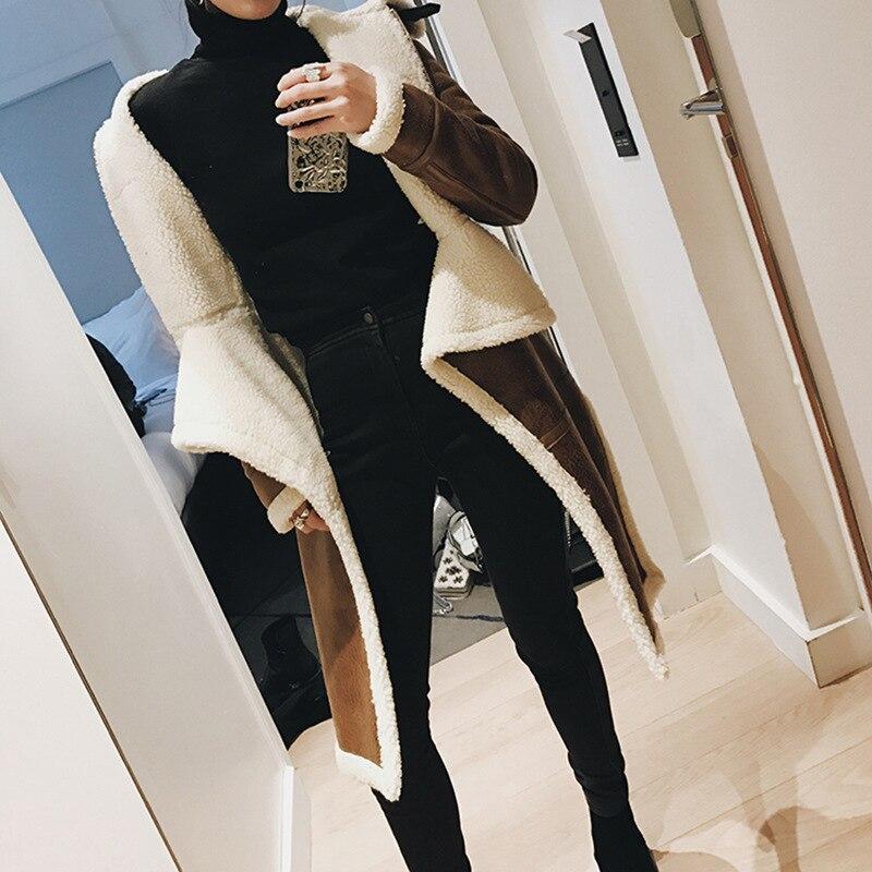 Personnalité Zipper 2018 La Longue D'hiver Nouvelle Camel À Coton Irrégulière Mode Manteau Be285 Pu Spéciale Vêtements Section Offre EF6Fqz