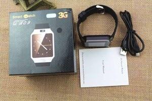 Image 5 - 3G WIFI reloj inteligente 4 GB ROM deporte de Facebook/Twitter/WhatsApp Internet QW09 Bluetooth Smartwatch Cámara 2,0 del podómetro tarjeta SIM