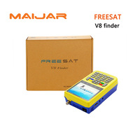 10pcs HD Digital Satellite Finder Freesat V8 Finder 3 5 Inch LCD Colour Screen Fully DVB
