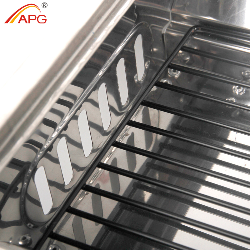 Купить с кэшбэком APG Portable Folding Barbecue Stove Barbecue Oven Outdoor Camping Household Charcoal BBQ Grill Carbon Oven