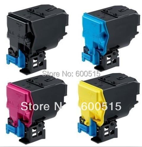 TNP27 B/M/C/Y 4pcs/set color toner catridge Compatible KONICA MINOLTA BIZHUB  C25