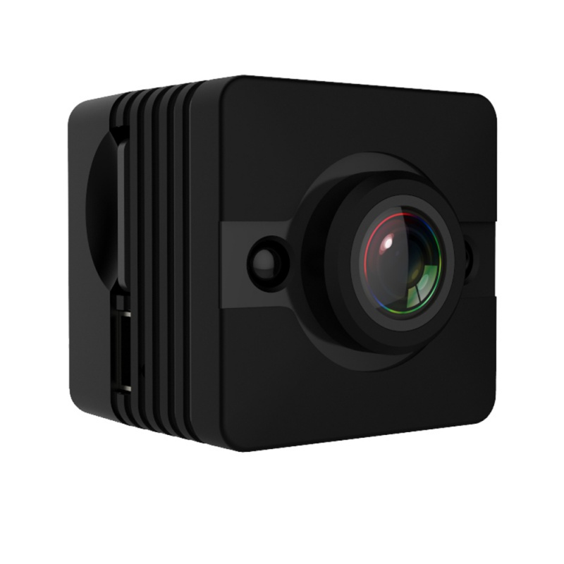 EDAL Mini Camera SQ12 Sports HD DV Camcorder 1080P Night Vision 155 degree wide Angle Surveillance Camera 30 meters waterproof
