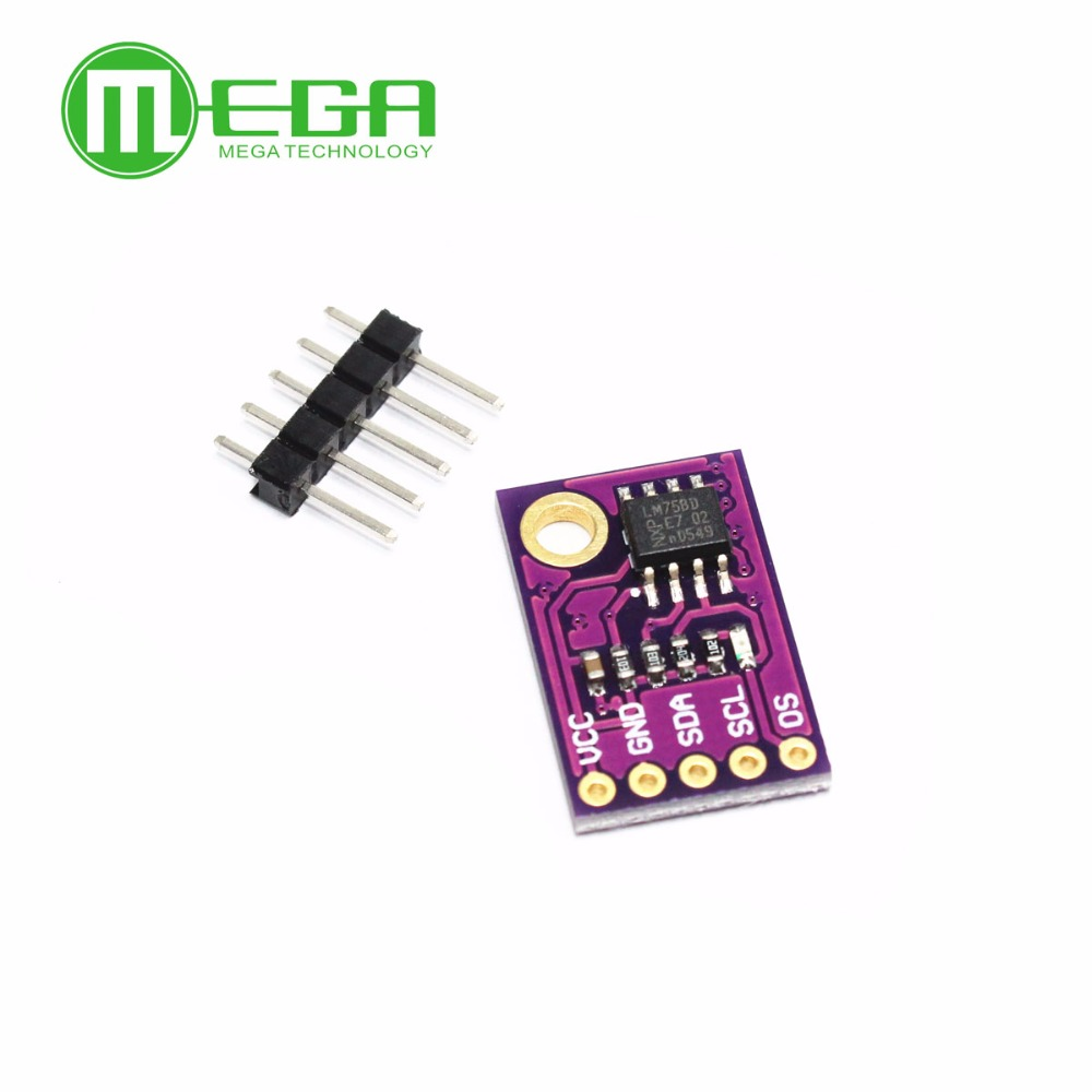 lm75a temperature sensor high speed i2c iic interface development
