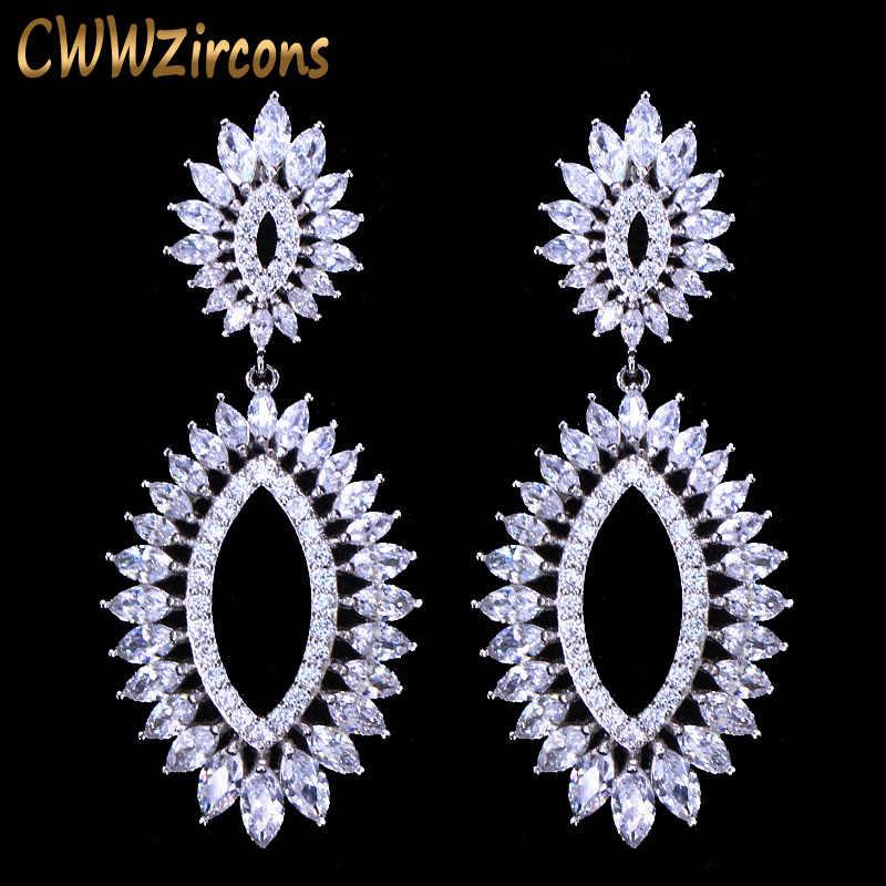 Cwwzircons Luxury Wedding Bridal Party Jewelry Expensive Cubic