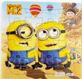 3D rompecabezas De Papel del rompecabezas juguetes para niños kids squarepants y minions para el Bebé educativo 1001