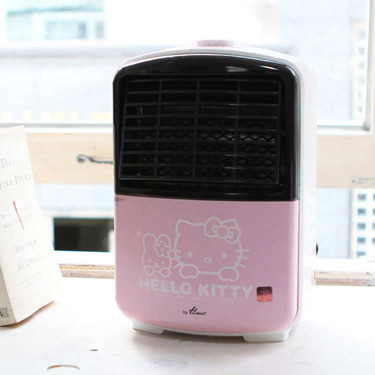 Hello Kitty Genuine Household Electric Heater 600W Hot Wire Heating Fan Warm Portable Air Warmer Appliances Pink Cute DesignHello Kitty Genuine Household Electric Heater 600W Hot Wire Heating Fan Warm Portable Air Warmer Appliances Pink Cute Design