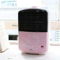 Hello Kitty Genuine Household Electric Heater 600W Hot Wire Heating Fan Warm Portable Air Warmer Appliances Pink Cute Design