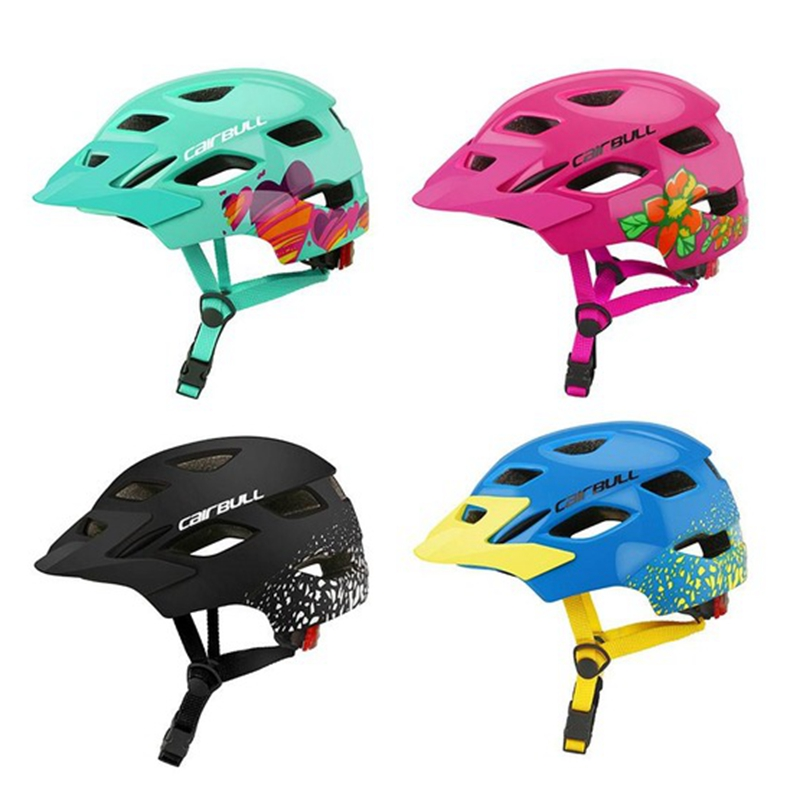 Kids Cycling MTB Bicycle Helmet Ultraligt Bike Safety Helmet With Tail Light