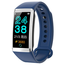 New TD19 smart watch 1.14 color screen heart rate call reminder blood pressure oxygen waterproof sports bracelet